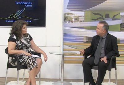 Daniela Luluddak entrevista o presidente Wilsinho Pereira.
